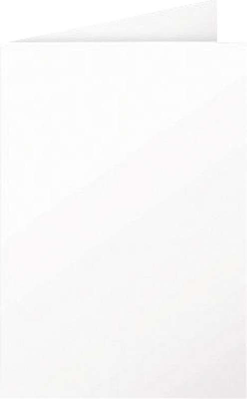 Clairefontaine PPP Doppelkarten/2316C weiß Inh. 25 Stück