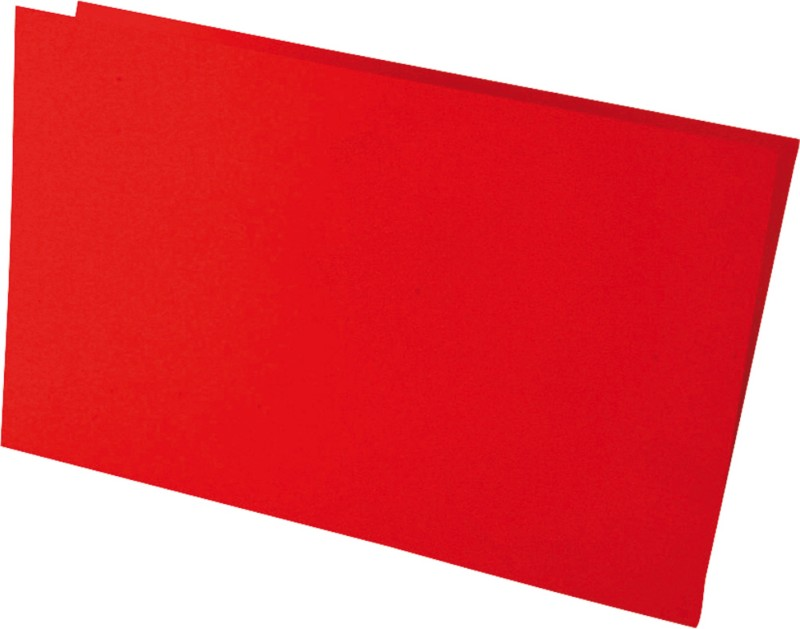 Clairefontaine PPP Doppelkarten / 2525C kirschrot DL 210g/m² Inh. 25 Stück