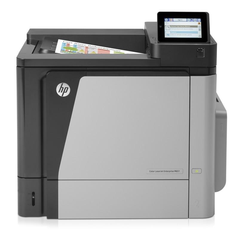 HP M651n Farb-Laserdrucker