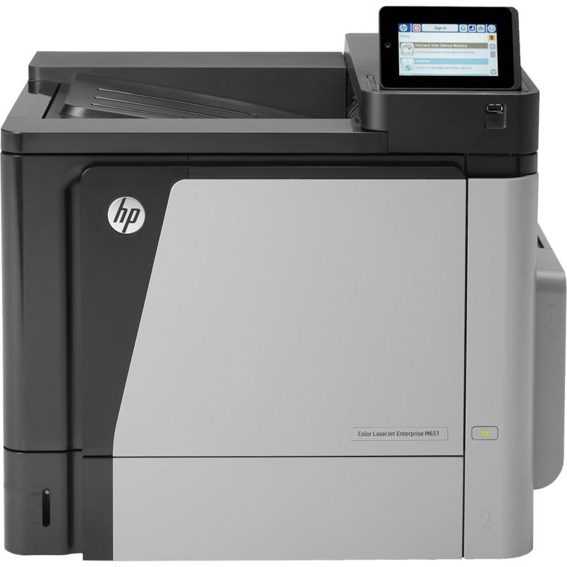 HP M651DN Farb-Laserdrucker