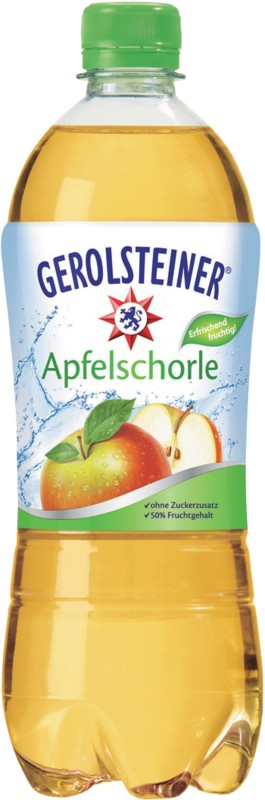 Gerolsteiner Apfelschorle 750 ml