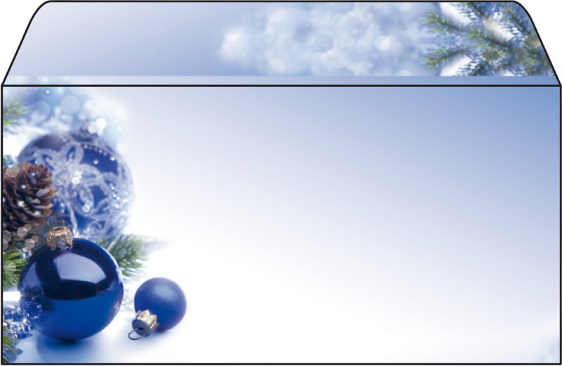 Sigel Weihnachts-Briefumschläge Blue Harmony DI...