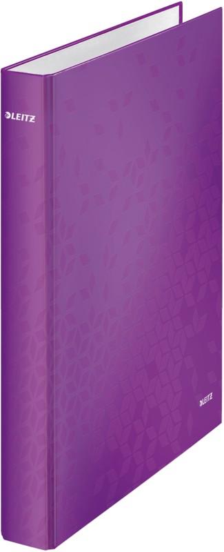 Leitz Ringordner DIN A4 Violett Tafel