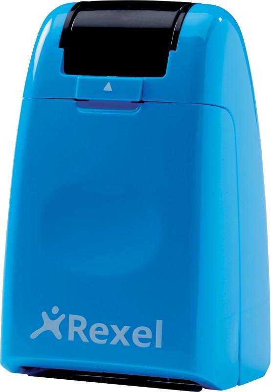Rexel Tintenrollstempel ID Guard Blau