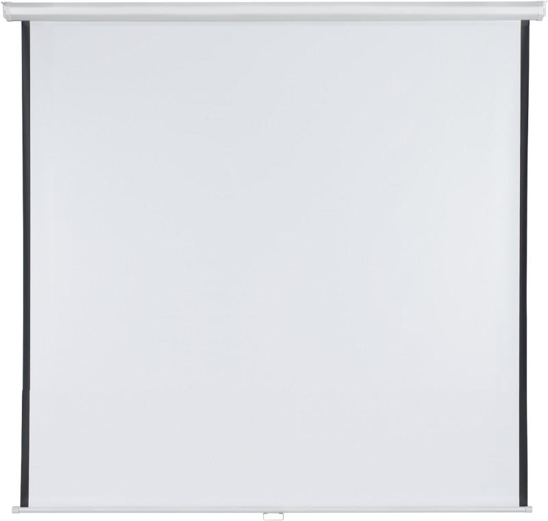 Franken Rolloleinwand X-Tra!Line Weiß 180 x 180 cm