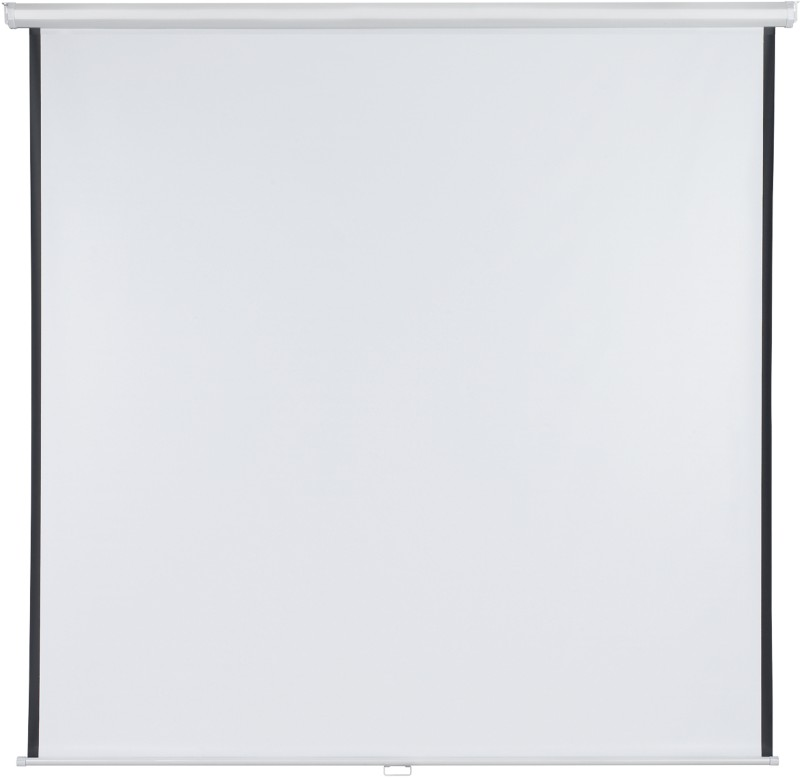 Franken Rolloleinwand X-Tra!Line Weiß 200 x 200 cm