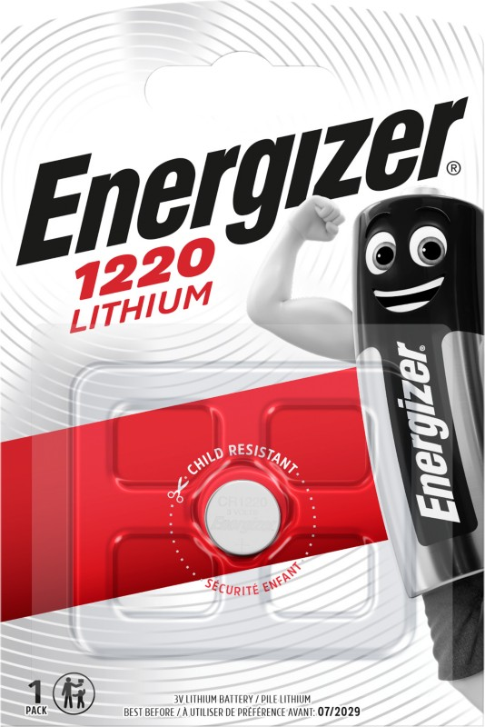 Energizer Knopfzelle Lithium CR1220