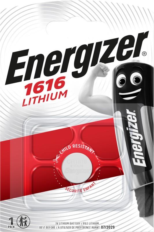 Energizer Knopfzelle Lithium CR1616