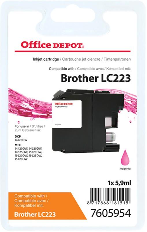 Vorschaubild von Office Depot Kompatibel Brother LC223M Tintenpatrone Magenta