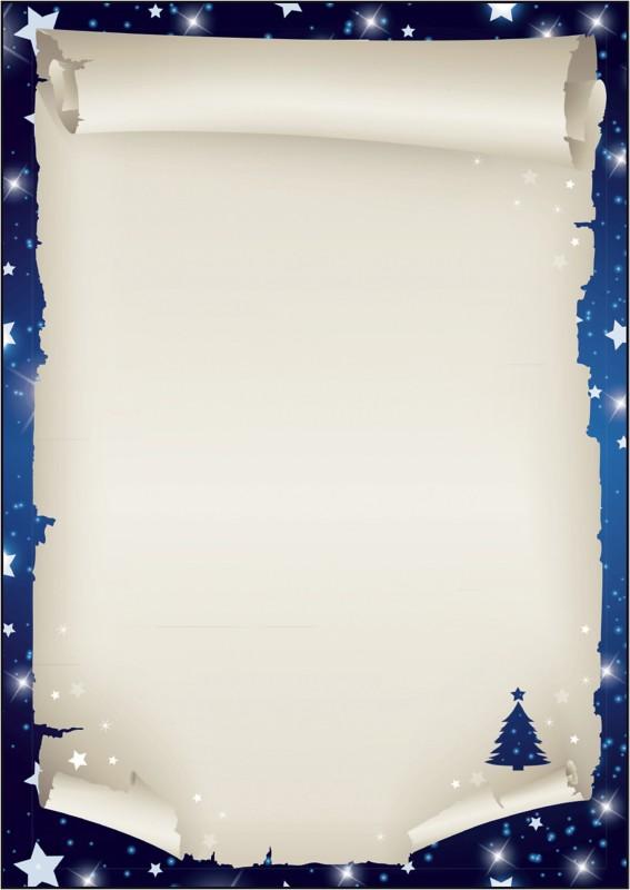 Sigel Weihnachtsbriefpapier Xmas Scroll DIN A4 ...