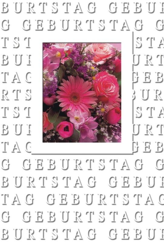 bsb-obpacher Geburtstagskarten + Umschläge Rote...