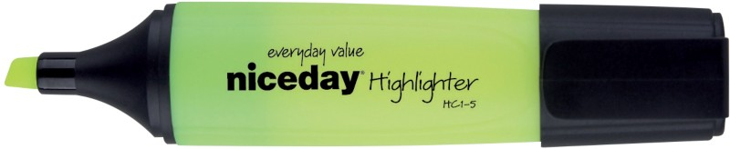 Niceday Textmarker HC1-5 Gelb