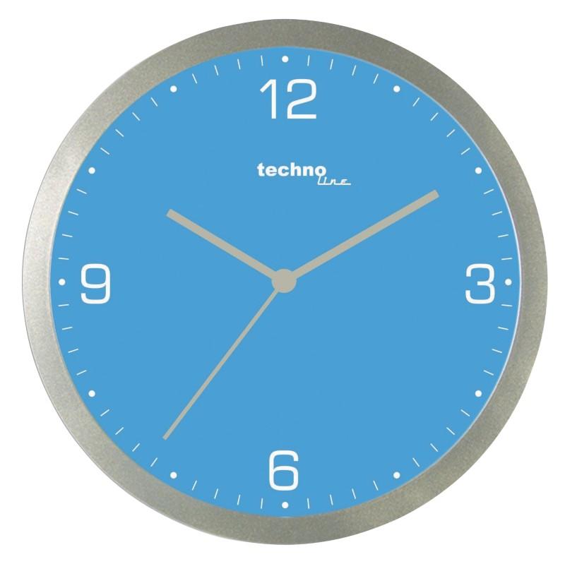 TechnoLine Wanduhr WT9000 Blau