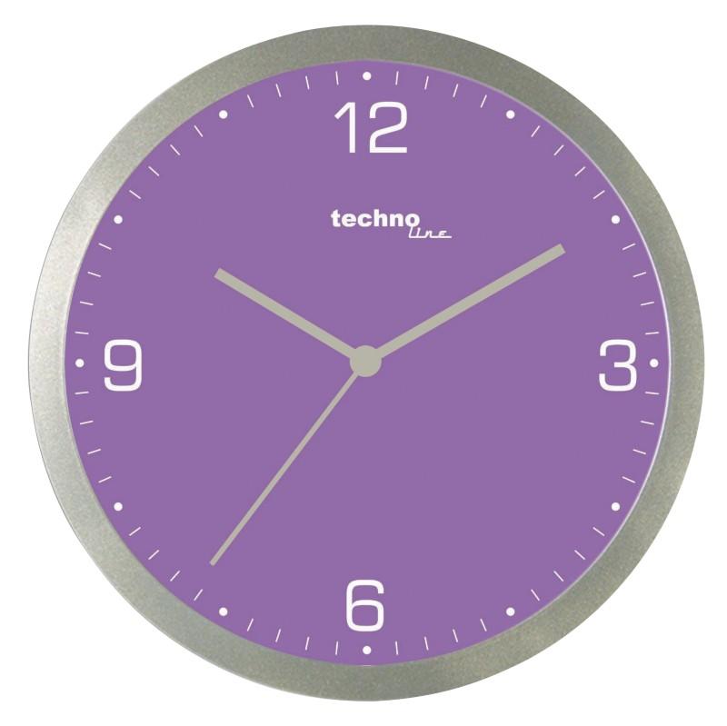 TechnoLine Wanduhr WT9000 Violett