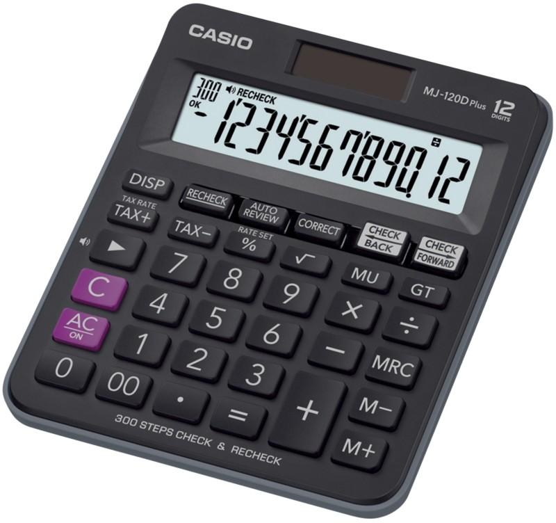 Vorschaubild von Casio Tischrechner MJ120-D Plus Schwarz