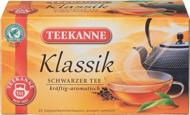 TEEKANNE Tee Schwarzer Tee Klassik 20 Stück