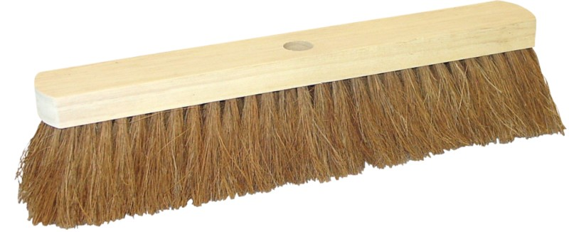 BETRA Saalbesen Holz Und Kokos 40 Cm Braun