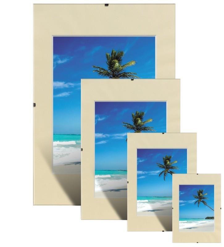 Niceday Clip-Bilderrahmen DIN A2 50 x 40 cm