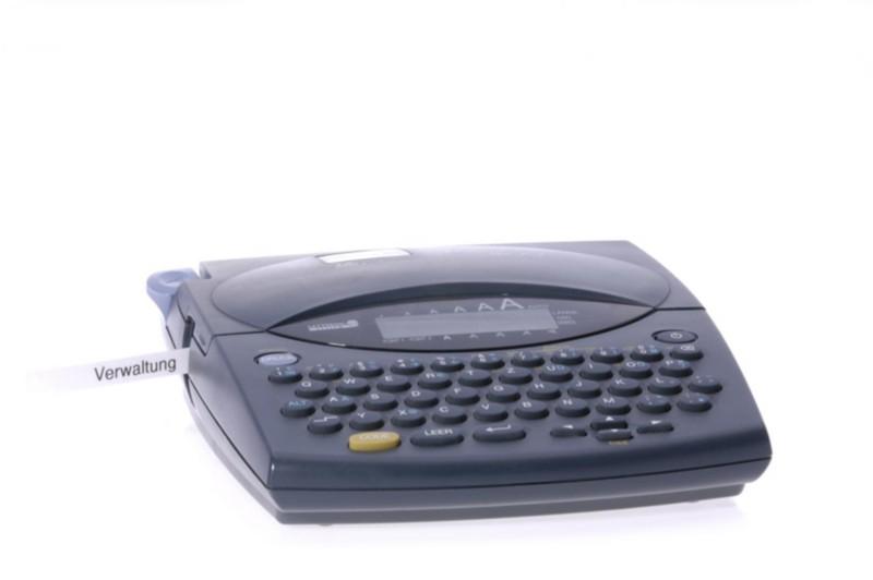 Bild eines Etikettendruckers mit eigenem Speicher und USB-Schnittstelle