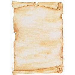 Sigel Papier Pergament DP235 DIN A4 90 g/m² Braun 50 Blatt
