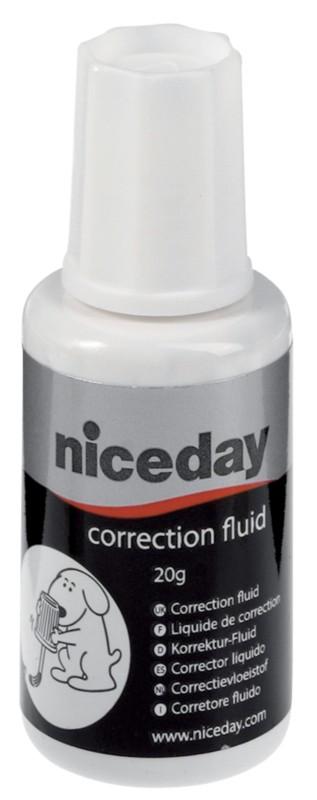 Niceday Korrekturfluid Fluid 20 ml