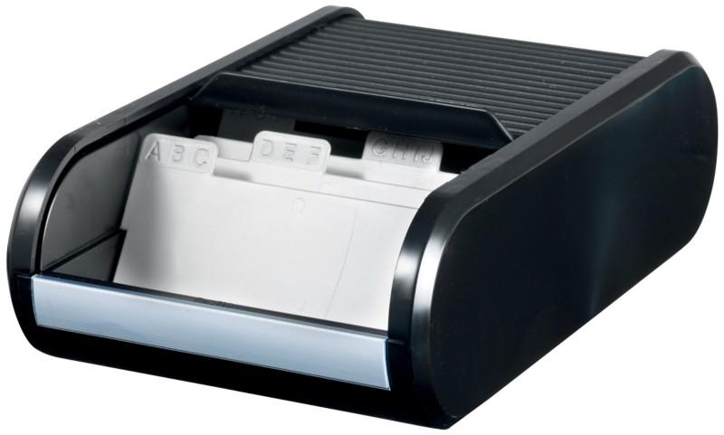 helit Visitenkartenbox H6218095 DIN A8 300 Kart...