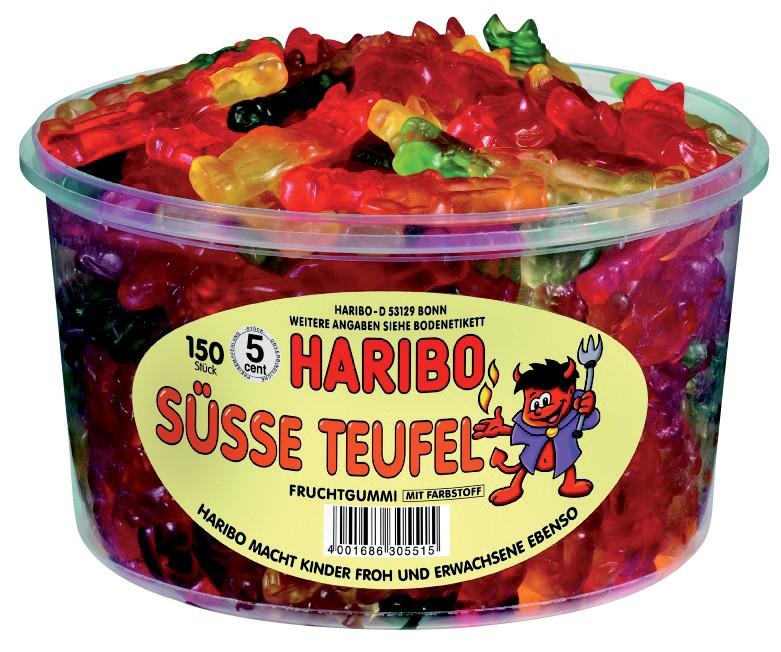 Haribo Fruchtgummi Süße Teufel 150 Stück