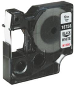 DYMO Etikettenband S0718100 12 mm Weiß