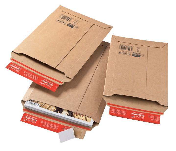 ColomPac Versandtaschen C4 Braun DIN A4 215 x 300 mm