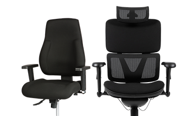 Chaises et tabourets ergonomiques