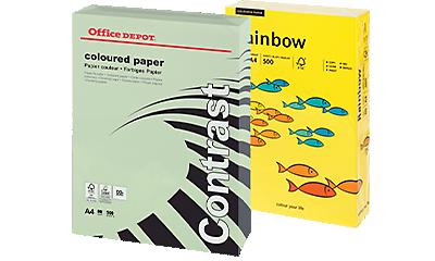 Farbiges Papier