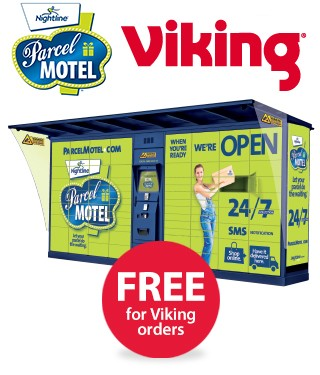 parcel motel free for viking orders