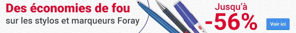 Gigantische kortingen op Foray pennen en markers