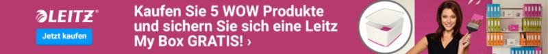 Leitz WOW Campaign