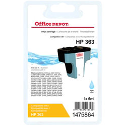 Office Depot Compatible for HP 363 Light Cyan Ink Cartridge C8774EE