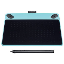 Wacom Graphics Tablet CTH490CBN Black and Blue