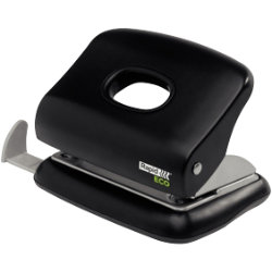 Rapid Eco Office 2 Hole Punch Black