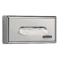 Facial tissue dispenser 7820 Chromed plastic  Silver