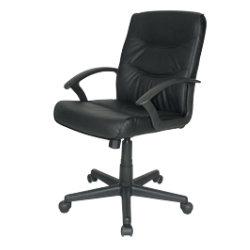 niceday executive chair rio leather basic tilt black by viking