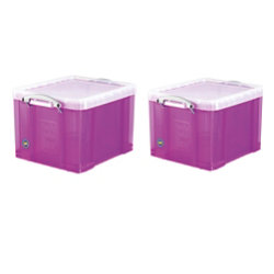 Roll over to Zoom  sc 1 st  Viking & Really Useful Plastic Storage Box 310 H x 390 W x 480 D mm 35 L ...