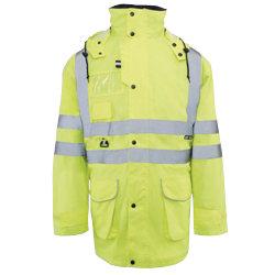 Alexandra 5 in 1 coat yellow XL