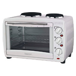 Igenix 26litre mini oven with double hotplate