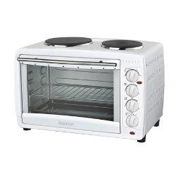 Igenix 45litre mini oven with double hotplate