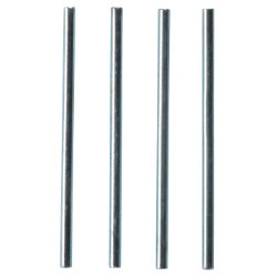 Niceday Letter Tray Risers Rod 8072086 Metal Silver 115 mm
