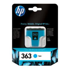 HP 363 Original Cyan Ink cartridge C8771EEUUS