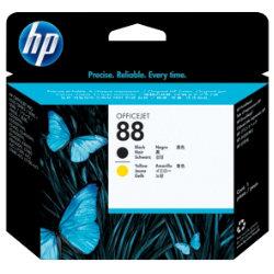 HP 88 Original Black & Yellow Printhead C9381A