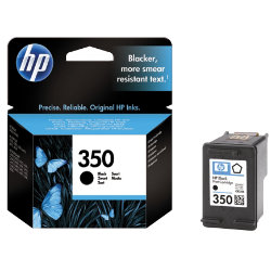 HP 350 Original Black Ink Cartridge CB335EEUUS