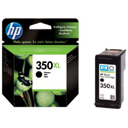 HP 350XL Original Black Ink Cartridge CB336EEUUS