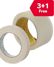 From £3.29 Scotch packaging tape