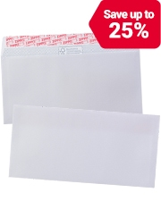 From £9.49 Office Depot business envelopes
